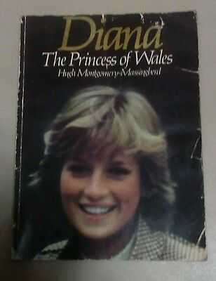 Diana - The Princess of Wales  Hugh Montgomery-Massingberd vintage softcover