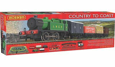 Hornby R1201 Country To Coast Lner 040 Train Starter Set Oo Gauge