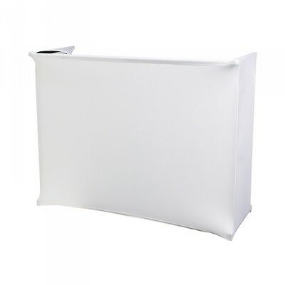 Rhino White Lycra for 4ft Disco Stand
