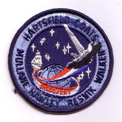 STS-41D space shuttle mission patch - Cape Kennedy Medals version