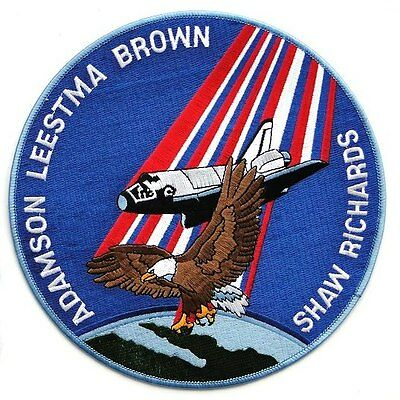 """Oversize 8"""" STS-28 space shuttle mission patch"""