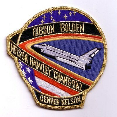 STS-61C space shuttle mission patch