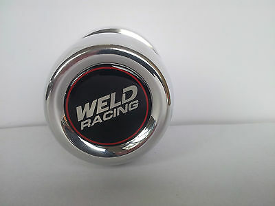 """Set Of 4 Weld Wheel Centre Caps 73Mm ( 2.95"""") Polished Alloy."""