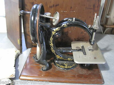 Antique Willcox And Gibbs Silent Sewing Machine