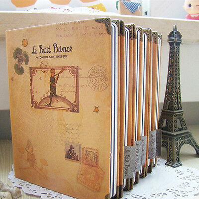 """Little Prince"" 1pc Planner Agenda Scheduler Any Year Notebook Hard Cover Diary"