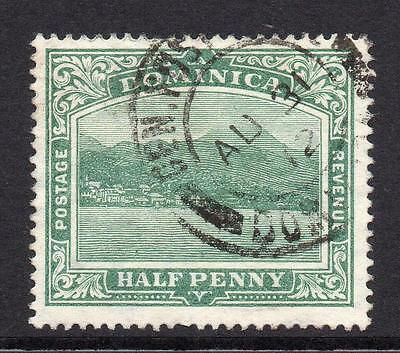 Dominica 1/2 Penny Stamp c1908-20 Used SG47
