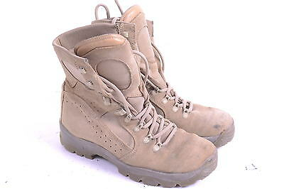 Used  army Meindl Army desert fox boots size UK 10.5