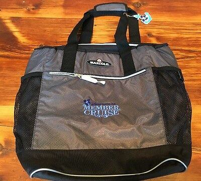 New DVC Member 2015 Disney Cruise Line Canvas Insulated Soft Sided Cooler Bag