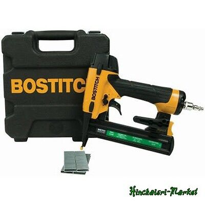 Compact Air Stapler Pneumatic Narrow Crown BOSTITCH Heavy-duty Job Hand Tool NEW