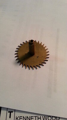 Large Escapement Wheel With 31 Teeth Very Old