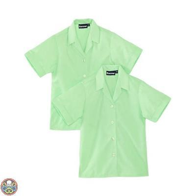 Blue Max Banner Tg: 48^ Chest Verde Revere Twin Pack Short Sleeve School Nuovo