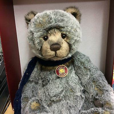 Charlie Bears Bobsleigh  21 Inch Plush Jointed Bear  New With Tags