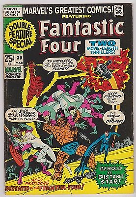 Marvel's Greatest Comics with The Fantastic Four #30, Fine Condition