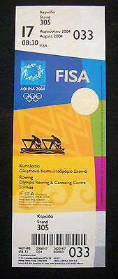Orig.Ticket  Olympic Games ATHEN 2004  -  ROWING  17.08.2004  !!  RARE