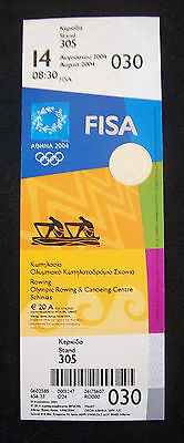 Orig.Ticket  Olympic Games ATHEN 2004  -  ROWING  14.08.2004  !!  RARE
