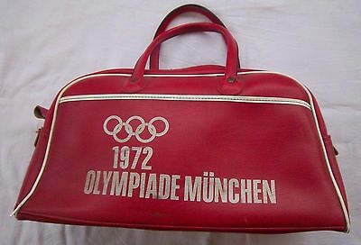 Orig.Bag / sport bag    Olympic Games MÜNCHEN 1972 // RED Edition  !!  RARITY