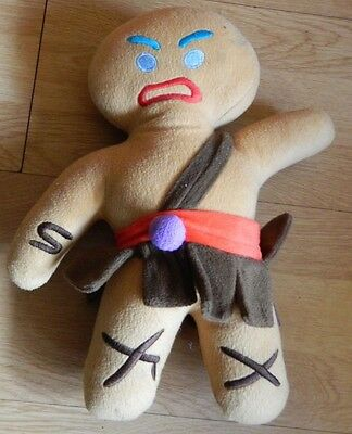 Shrek Forever After Gingy the Gingerbread Man Soft Plush Toy