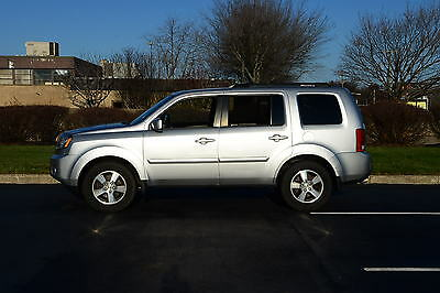 2010 Honda Pilot EX-L Sport Utility 4-Door 4 Wheel Drive Loaded Leather Sunroof 1 Owner NON Smoker Carfax No Reserve Clean
