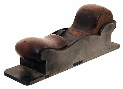 Massive Low Angled Mitre Plane -Cast Iron Body - Dated 1851 - Initials U.R.