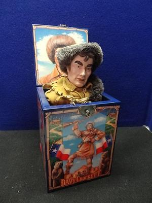 1987 Enesco Music Jack-In-The-Box featuring Davy Cockett #179. 3131