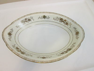 """Harmony House Gold Crest 11"""" Open Vegetable Serving Bowl"""