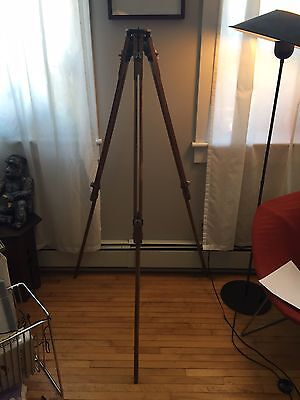 Otto Engineering Wood Tripod  - Adjustable - Reversible Legs