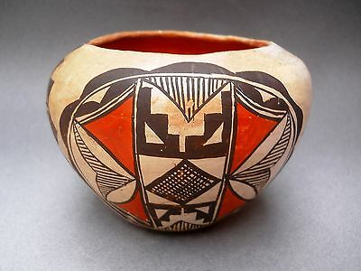 REDUCED Price! Vintage ACOMA SEED JAR Polychrome Pottery Bowl - RARE - Big SALE!