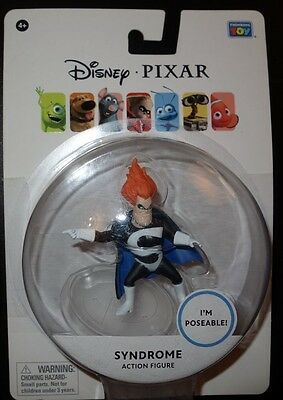 New Disney Pixar Mini Syndrome Poseable 3 Inch Action Figure Toy