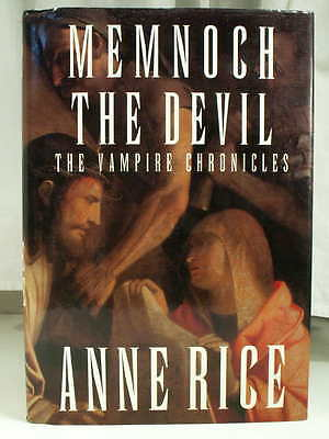 1995 ANNE RICE MEMNOCH THE DEVIL Vampire Chronicles Fine First Edition HCDJ