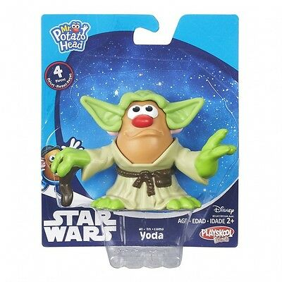 NEW! Hasbro Playskool. Mr. Potato Head. Star Wars Mini Mashers Yoda. Toy