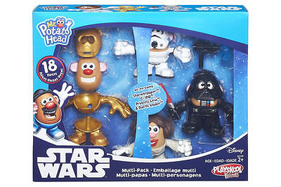 NEW! Hasbro Playskool. Mr. Potato Head. Star Wars Mini Mashers Multi 4 Pack.Toy.