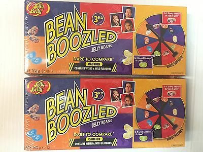 2 Packets Of Bean Boozled Spinner Game - Jelly Belly BEANBOOZLED  3rd Edition