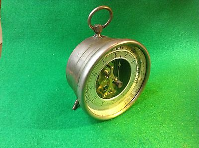 Antique Pocket Size Table Barometer  Made In France