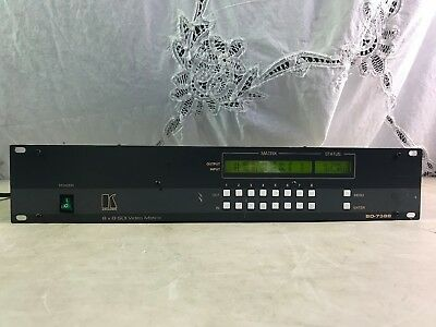 KRAMER SD-7388 8 x 8 SDI VIDEO MATRIX SWITCHER SD7388 8x8 SDI Router