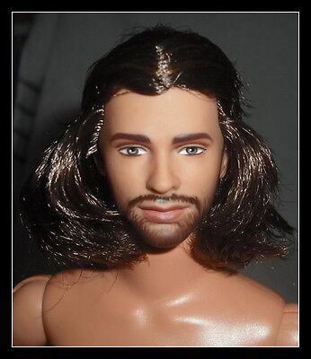 Nude Ken Doll Lotr Lord Of The Rings Aragorn Brunette  Articulated For Ooak