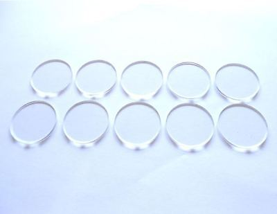 ROUND CLEAR BASES many sizes miniatures Warhammer roleplay model character base