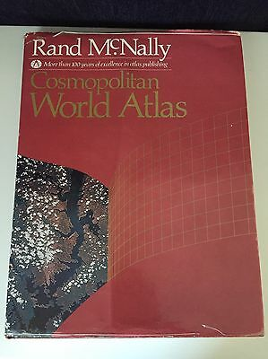 Rand McNally Cosmopolitan World Atlas Book 1984