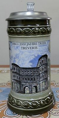 Nice German  Lidded Beer Stein.
