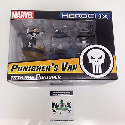 Heroclix 2016 Convention Exclusive Punisher's Van with The Punisher MP16-004!
