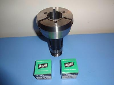 Cnc Hardinge 16C Master Collet For #s16 Pads W/new Serrated & Smooth Pads Nice