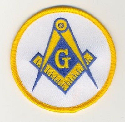Mason's Embroidered  Patch