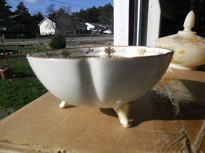Nippon Hand Painted Footed Bowl