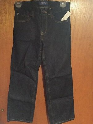 Old Navy Boys Size 8 Regular Loose Jeans Brand New