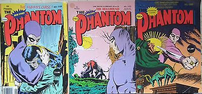 Australian Frew Phantom Comics lot x 3 1095 1109 1155