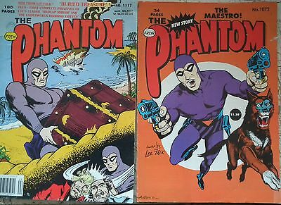 Lot of 4 x Frew Phantom Comics from the 1990's no.'s 1081, 1089, 1112 and 1160. VG