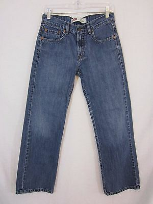 Boys Levi's 550 Relaxed Fit Denim Jeans - Size 16 Regular