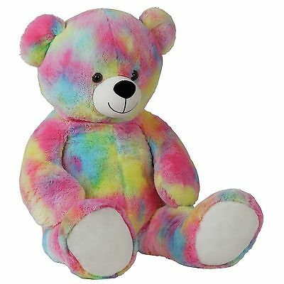 Chad Valley Multi-Coloured Bear. From the Official Argos Shop on ebay