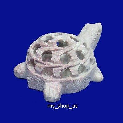 Marble tortoise Soapstone CollectibIe Inside Baby Handmade Animal Decorative