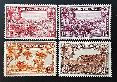 Montserrat 1938 Sg # 102 to Sg # 106 MHR Stamps Set Collection