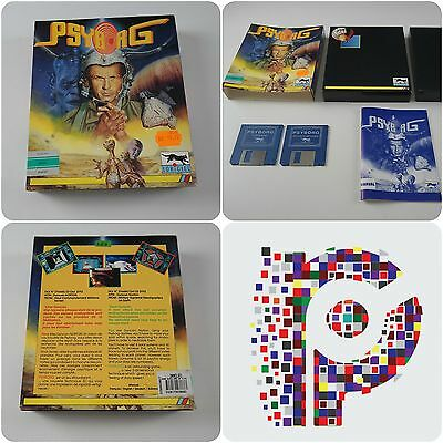 Psyborg A Loriciel Game for the Commodore Amiga Computer tested & working
